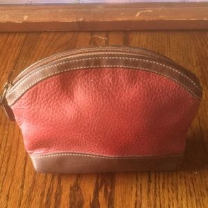 Vintage RARE Coach leather pouch